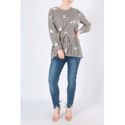 tunic cats printed